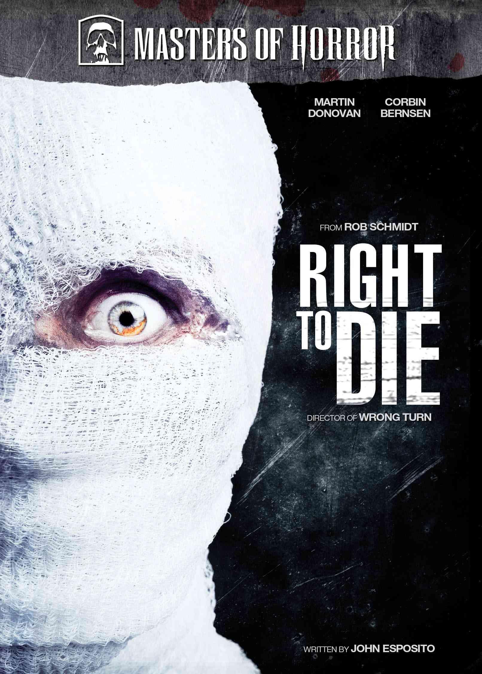 MASTER OF HORROR:RIGHT TO DIE BY AUSTIN,KAREN (DVD)